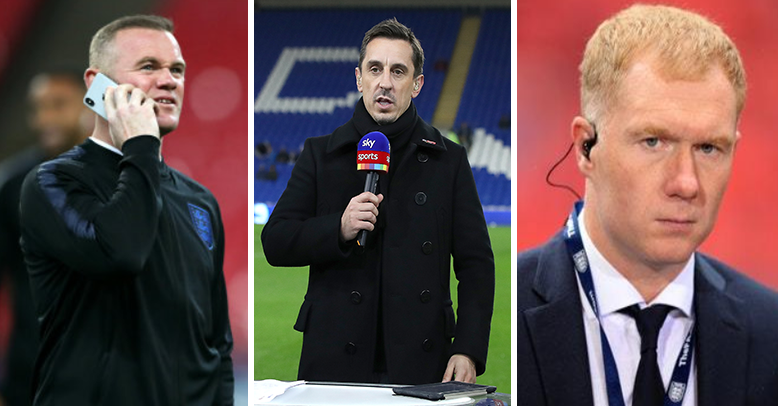 Gary Neville Claims He Only Ever Played With Two World-Class Players At Manchester United