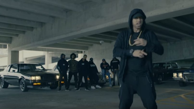 Eminem Compares Donald Trump To A Parrot In 'Revival' Song 'Like Home'