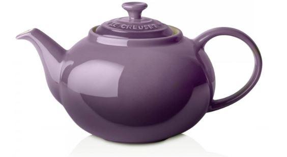 Stoneware classic teapot. Credit: Le Creuset