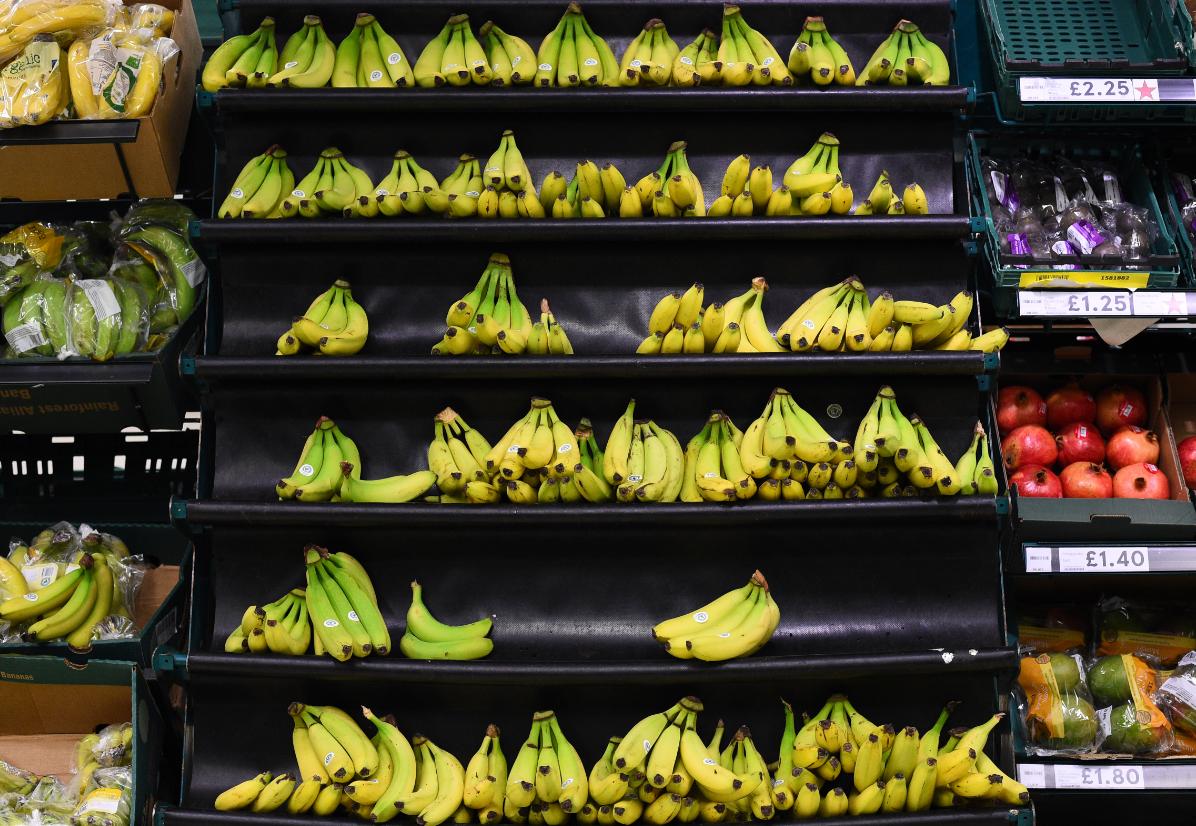 Bananas. Credit: Tesco