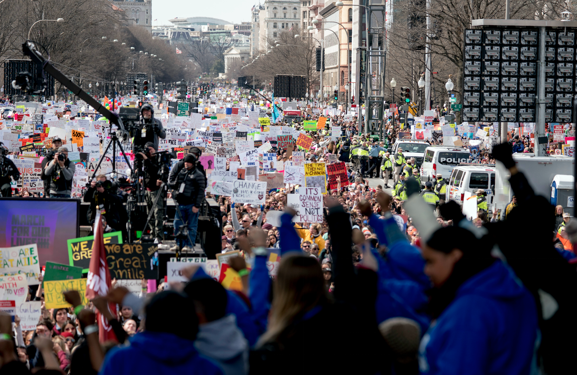 Paul McCartney attends anti-gun march in remembrance of John Lennon