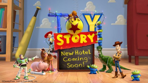 The hotel will be the second Toy Story themed hotel. (Credit: Disney Parks Blog)