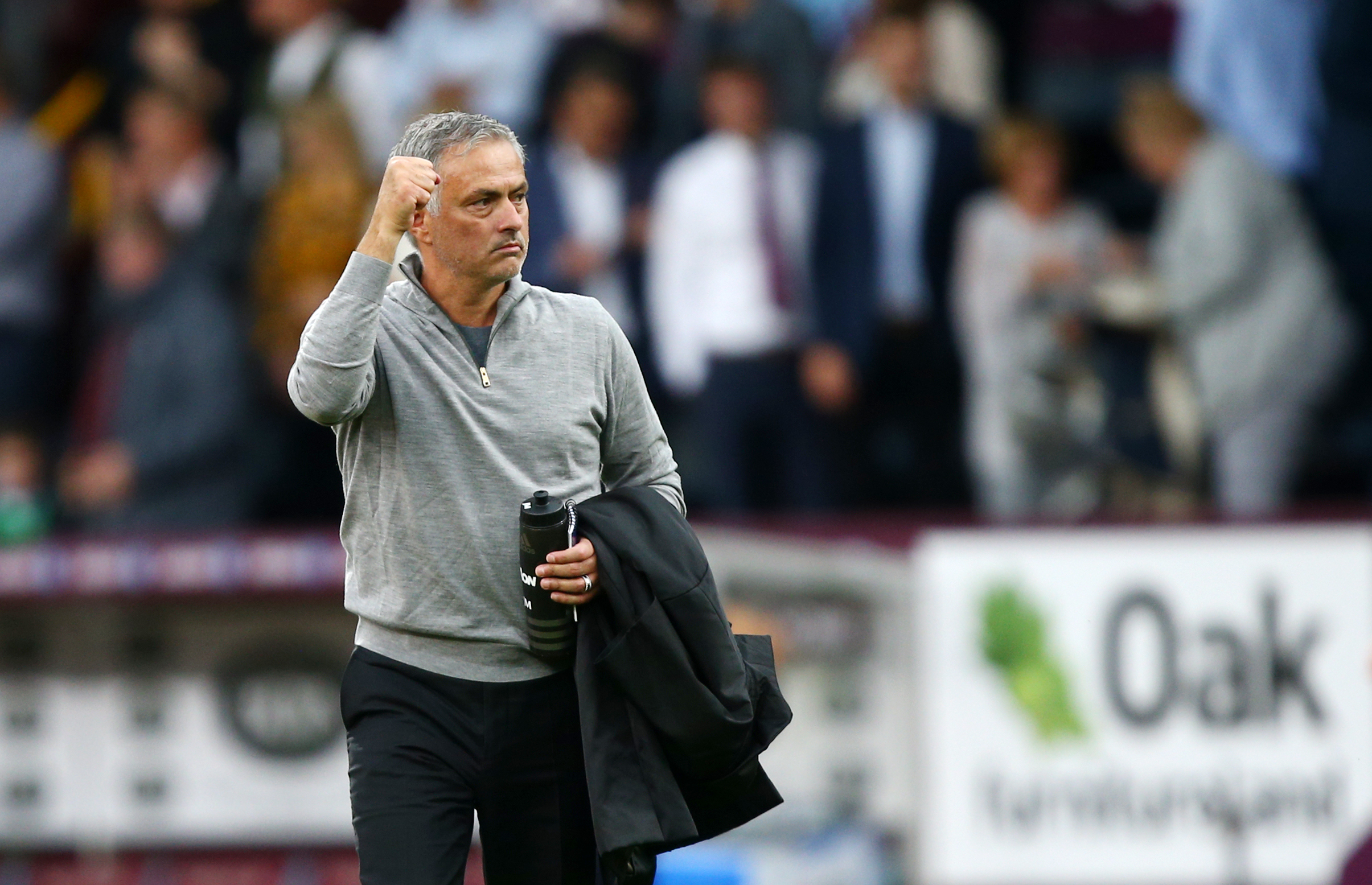 Mourinho would have been a lot happier with his side's performance this weekend. Image: PA Images