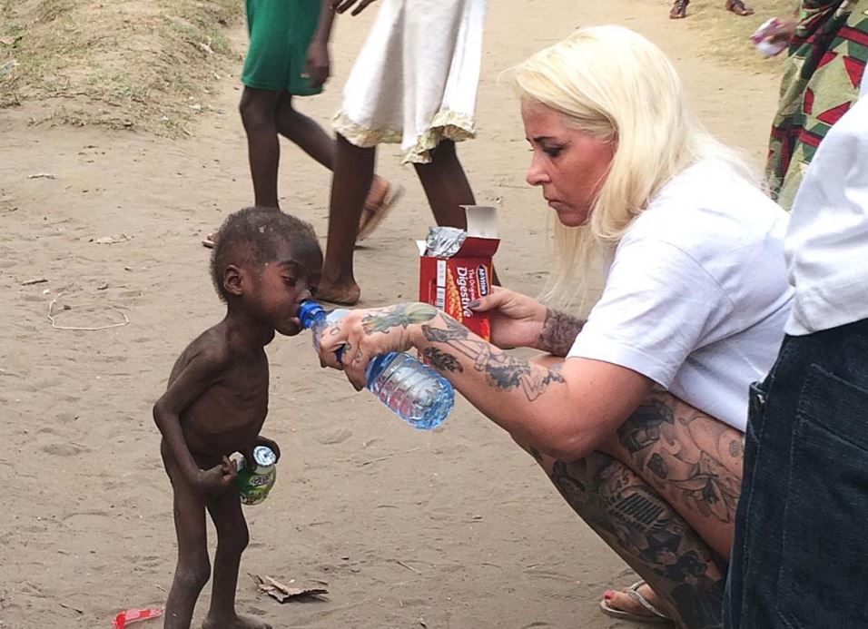 Woman Who Rescued Nigerian Child Named Most Inspiring Person Of 2016