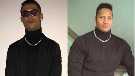 The Rock Responded Brilliantly To A Picture Comparing Him With Cristiano Ronaldo