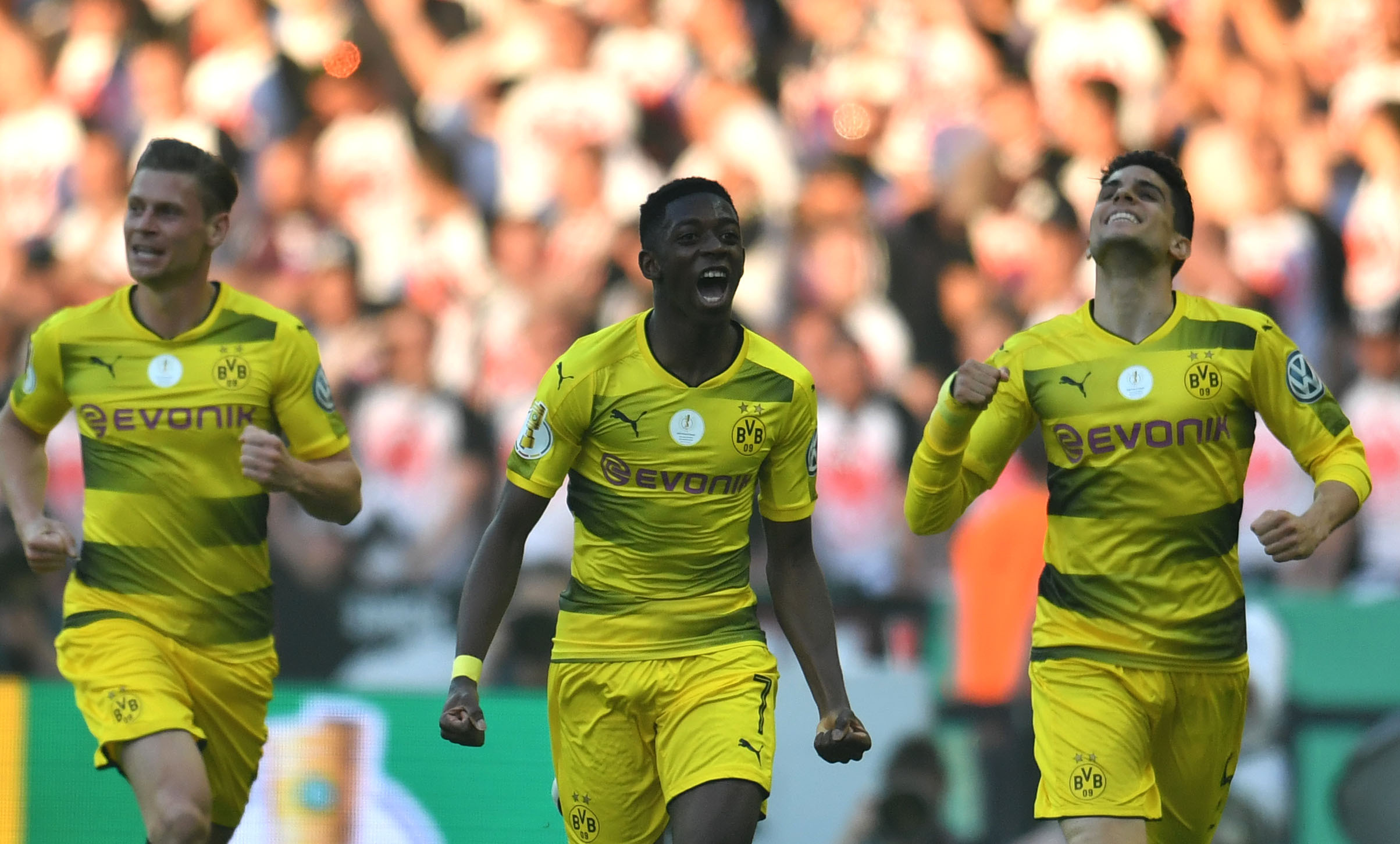 Pogba reveals that Mbappe and Dembele 'have a head'