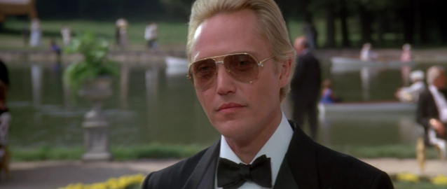 Christopher Walken was eventually given the part after Bowie and Sting turned it down. Credit: MGM