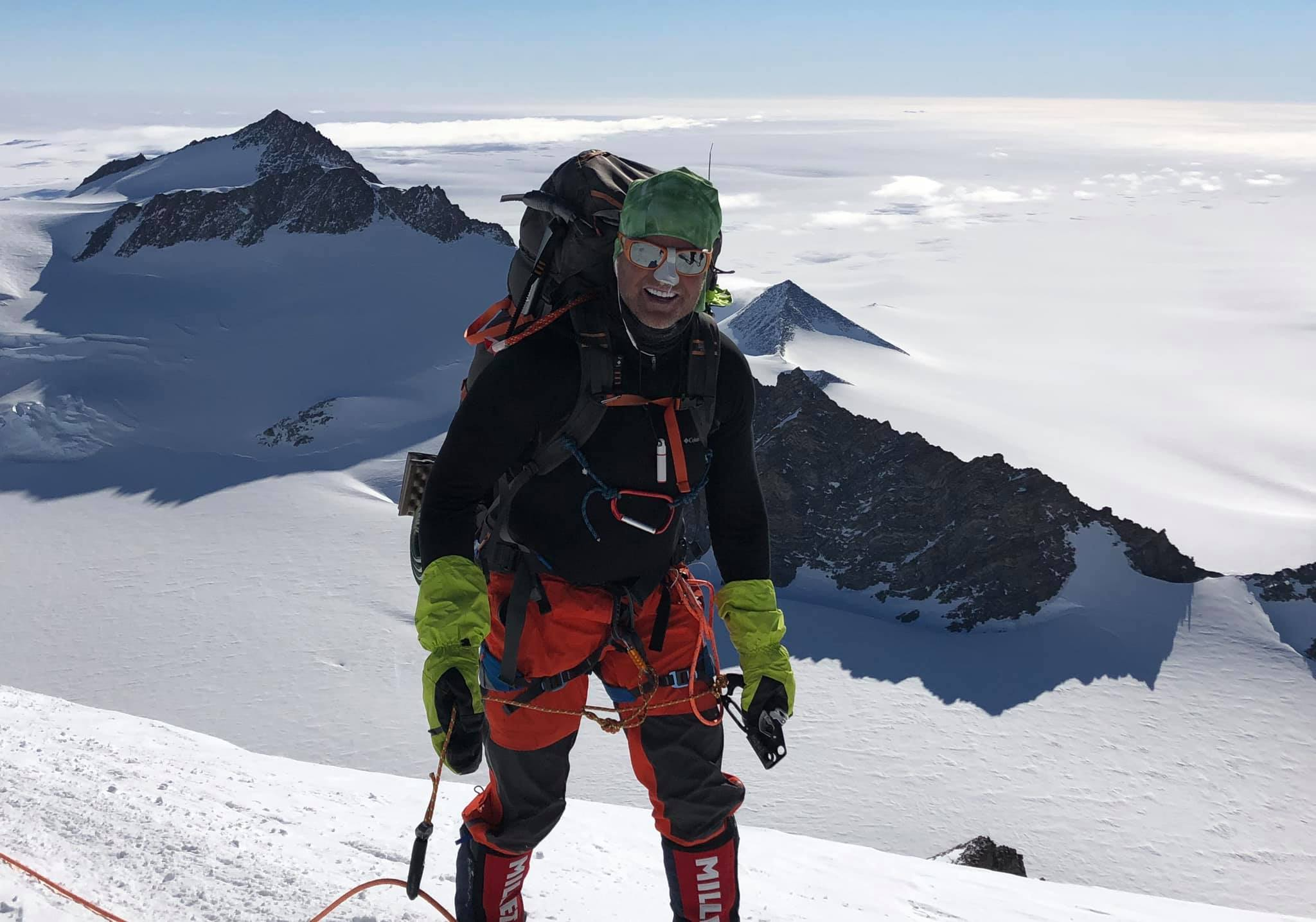 Donald Cash was on his final climb of the Seven Summit climbing mission. Credit: Facebook/Don Cash