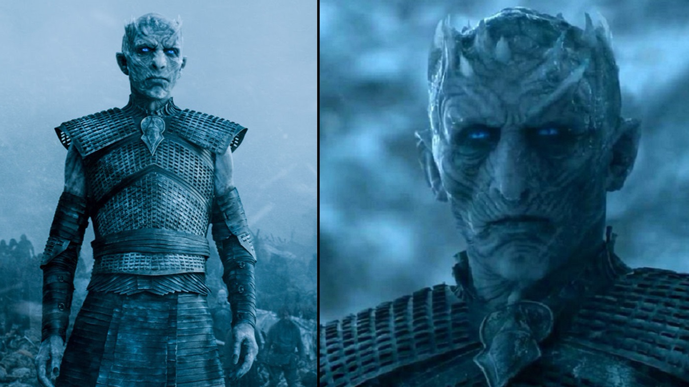 There S A Reason Why Season 7 S Night King Looks Different To Previous Seasons Ladbible