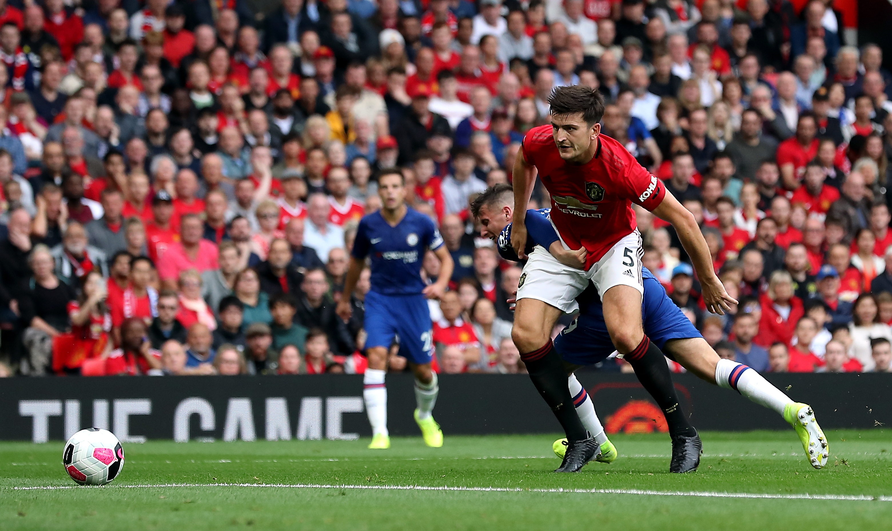 Harry Maguire helped Manchester United keep a clean sheet at Old Trafford - something they only managed twice last season