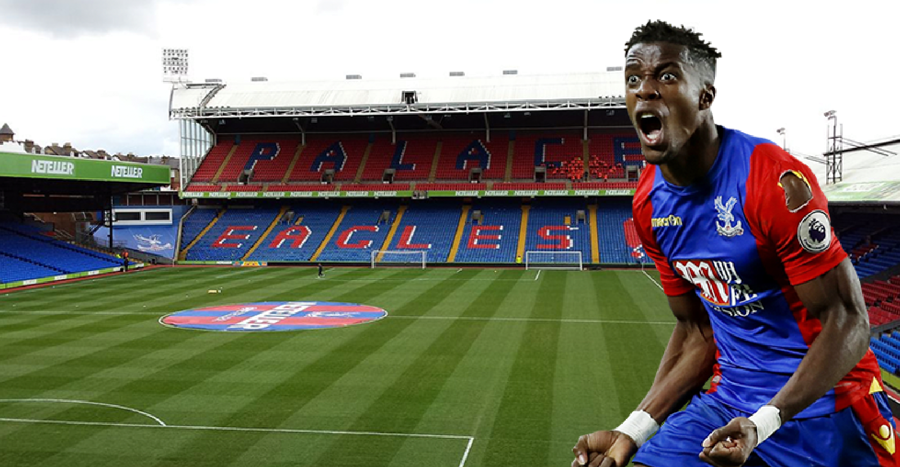 Wilfred Zaha Receives Staggering £44m Offer To Leave Crystal Palace In January