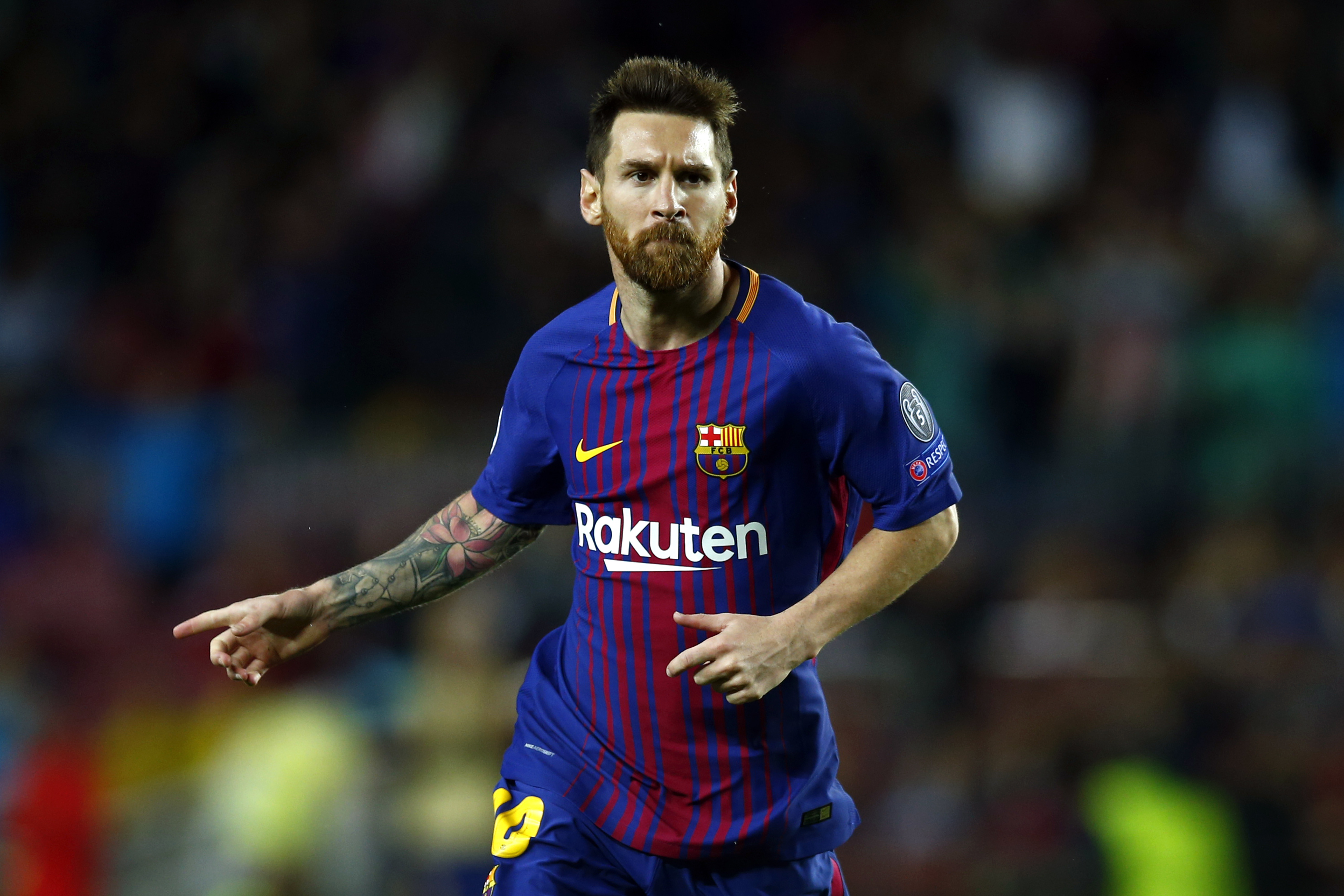 Lionel Messi Reaches 100 European Goals After Free Kick Against