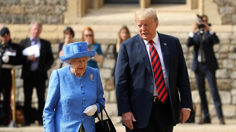 Donald Trump Says The Queen Was Late And Kept Him Waiting