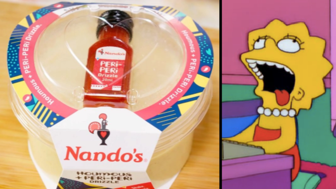 Good News Everybody: Tesco Is Doing Nando's Houmous + Peri-Peri