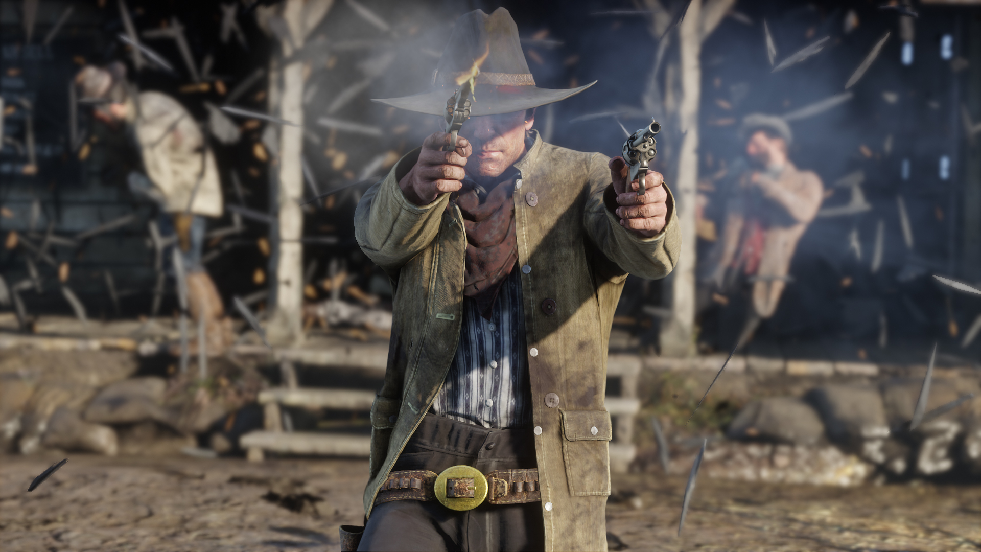 Red Dead Redemption 2 trailer showcases first-person camera, hygiene options