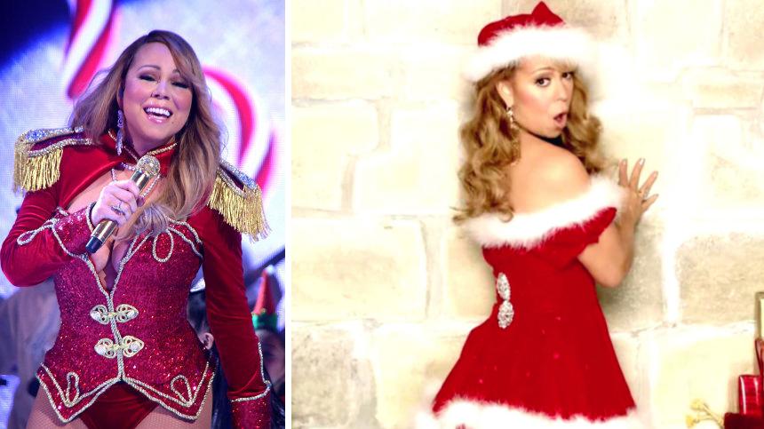 Mariah Carey Christmas Album Cover.Here S How Much Mariah Carey Makes In Royalties Each