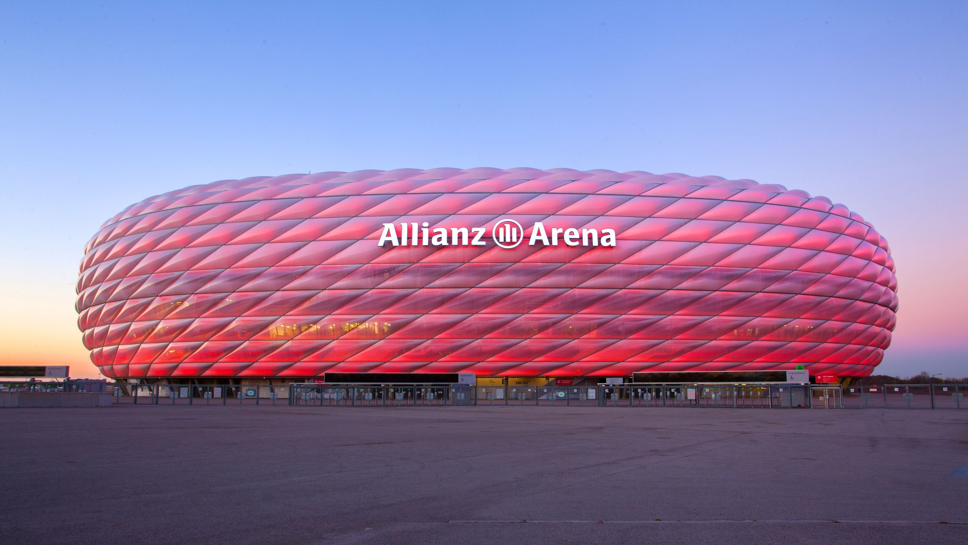 The Allianz arena in all its beauty. Image: Allianz Arena.