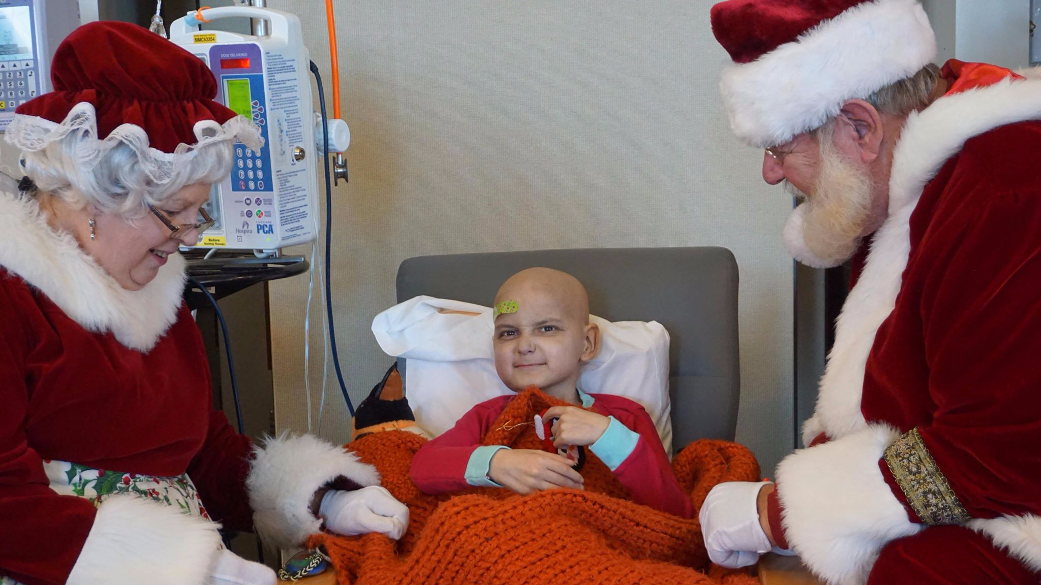 Nine-Year-Old Boy With Just A Month To Live Celebrates Christmas A Month Early
