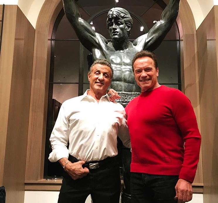 Sylvester Stallone buys replica 'Rocky' statue for 6 figures