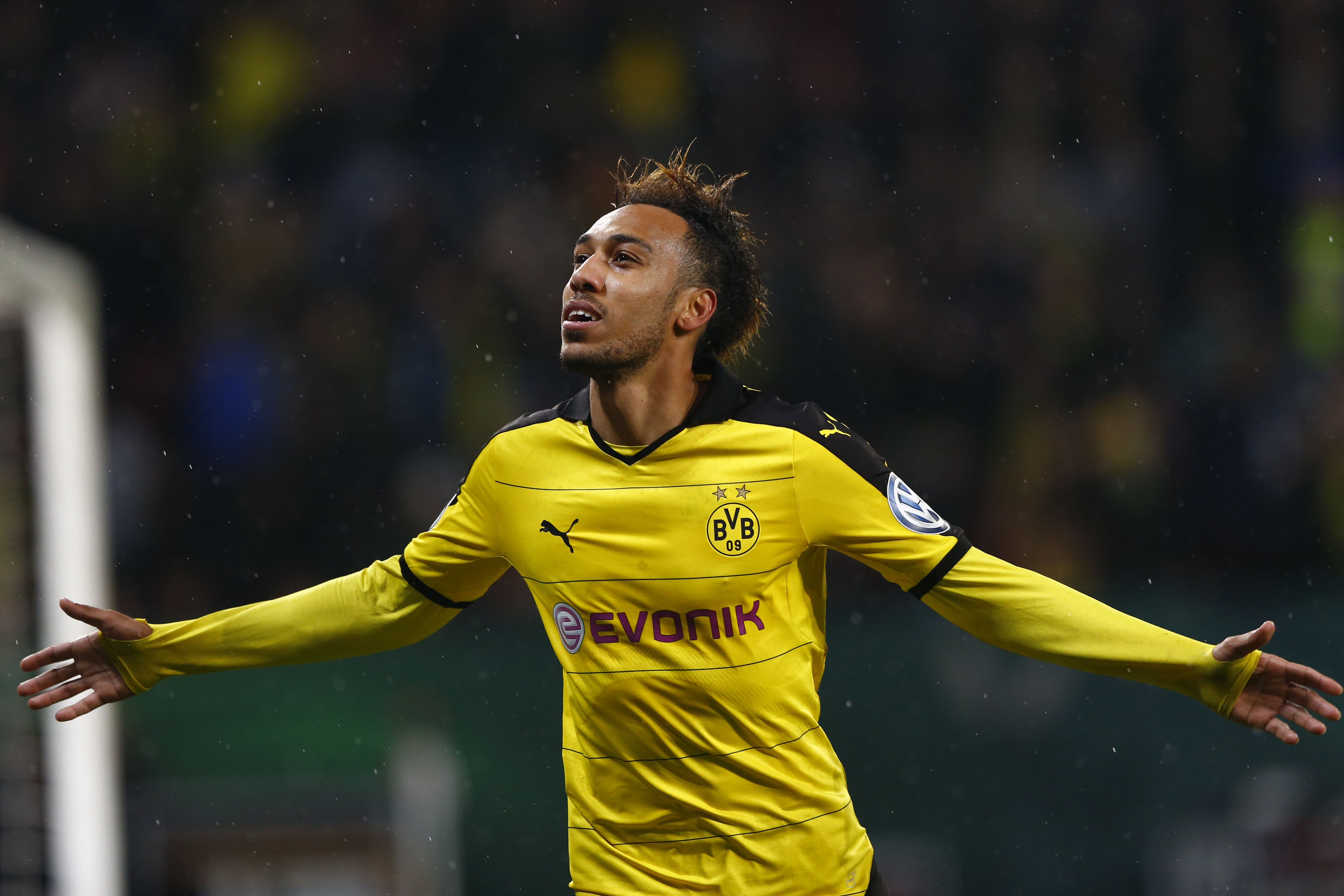 WATCH Pierre Emerick Aubameyang Scores Team Goal Against AC Milan