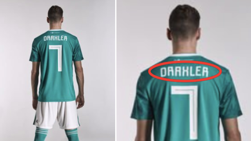 The Back Of Julian Draxler's Germany Shirt Has Gone Viral Because It's So Confusing