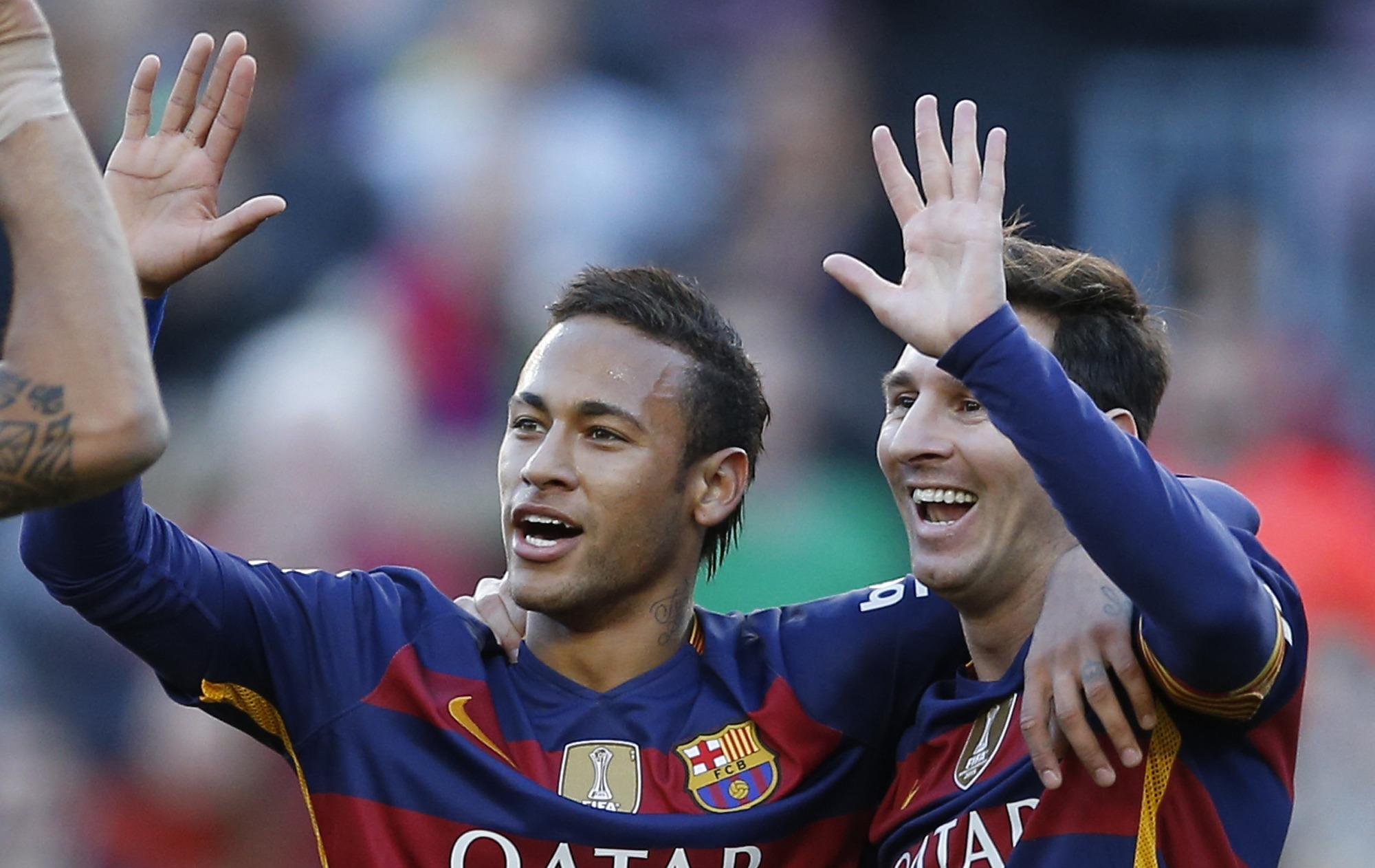 Neymar was embarrassed to speak to Messi