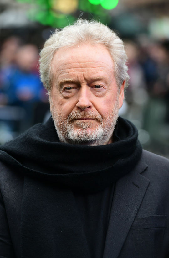 Director Ridley Scott. Credit: PA