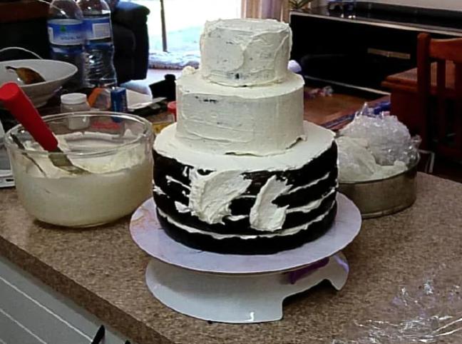 Credit: Silvina Werner/Woolies and Coles Mud Cake Hack Facebook