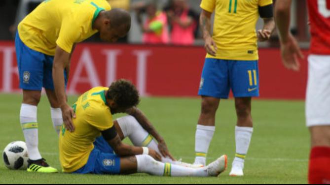 Neymar Slams Austria's 'UFC' Tactics After Brazil Win