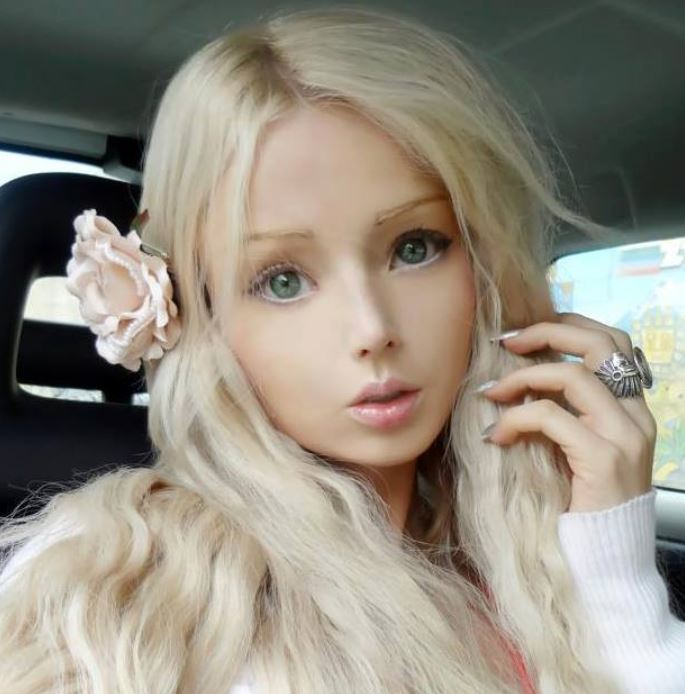 Credit: Facebook / Valeria Lukyanova - A Human Barbie Doll