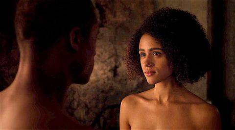 Topless women? In Game of Thrones? Perish the thought. Credit: HBO