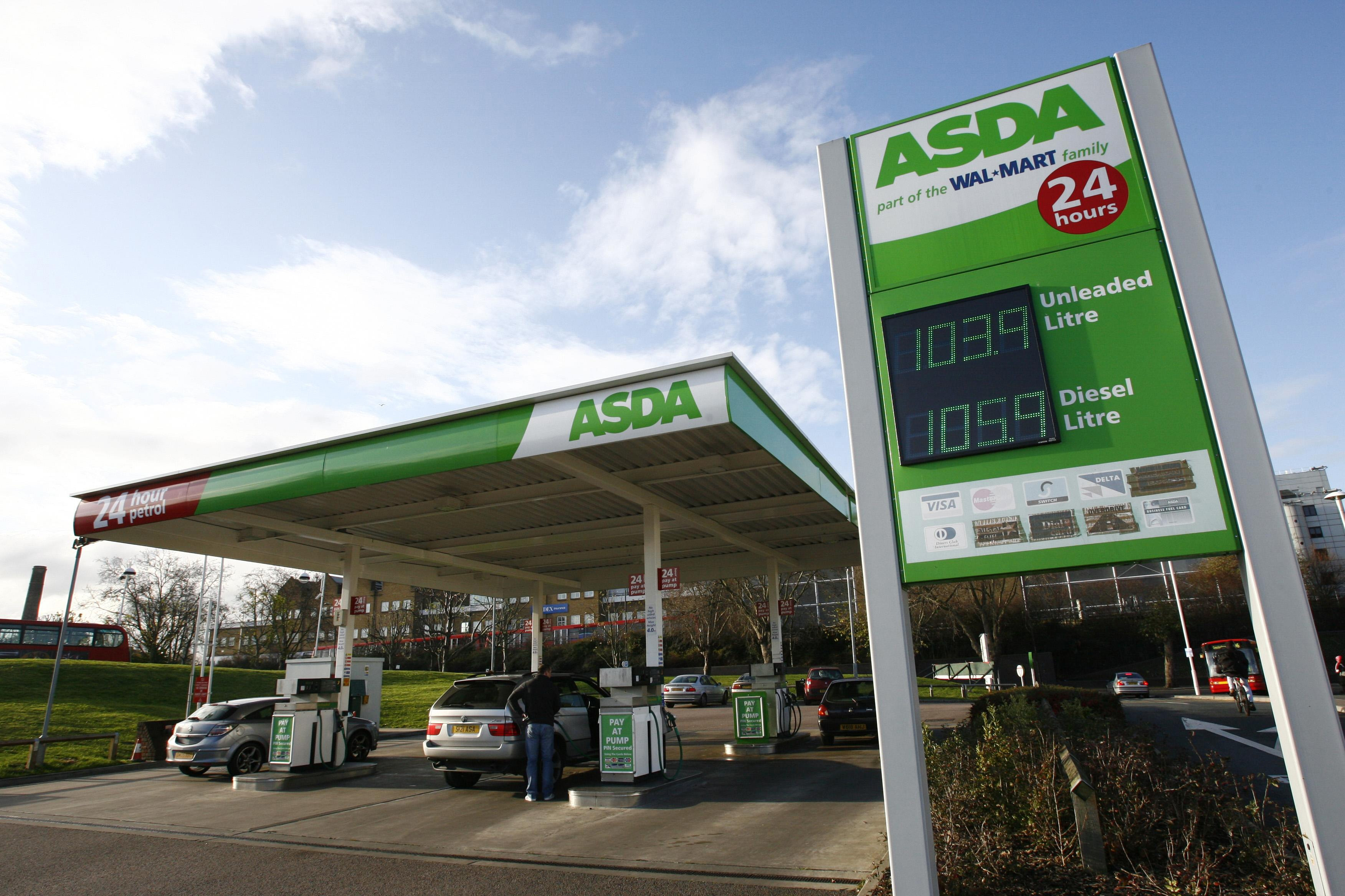 Woman 'charged' £99 deposit at Asda petrol station before filling up