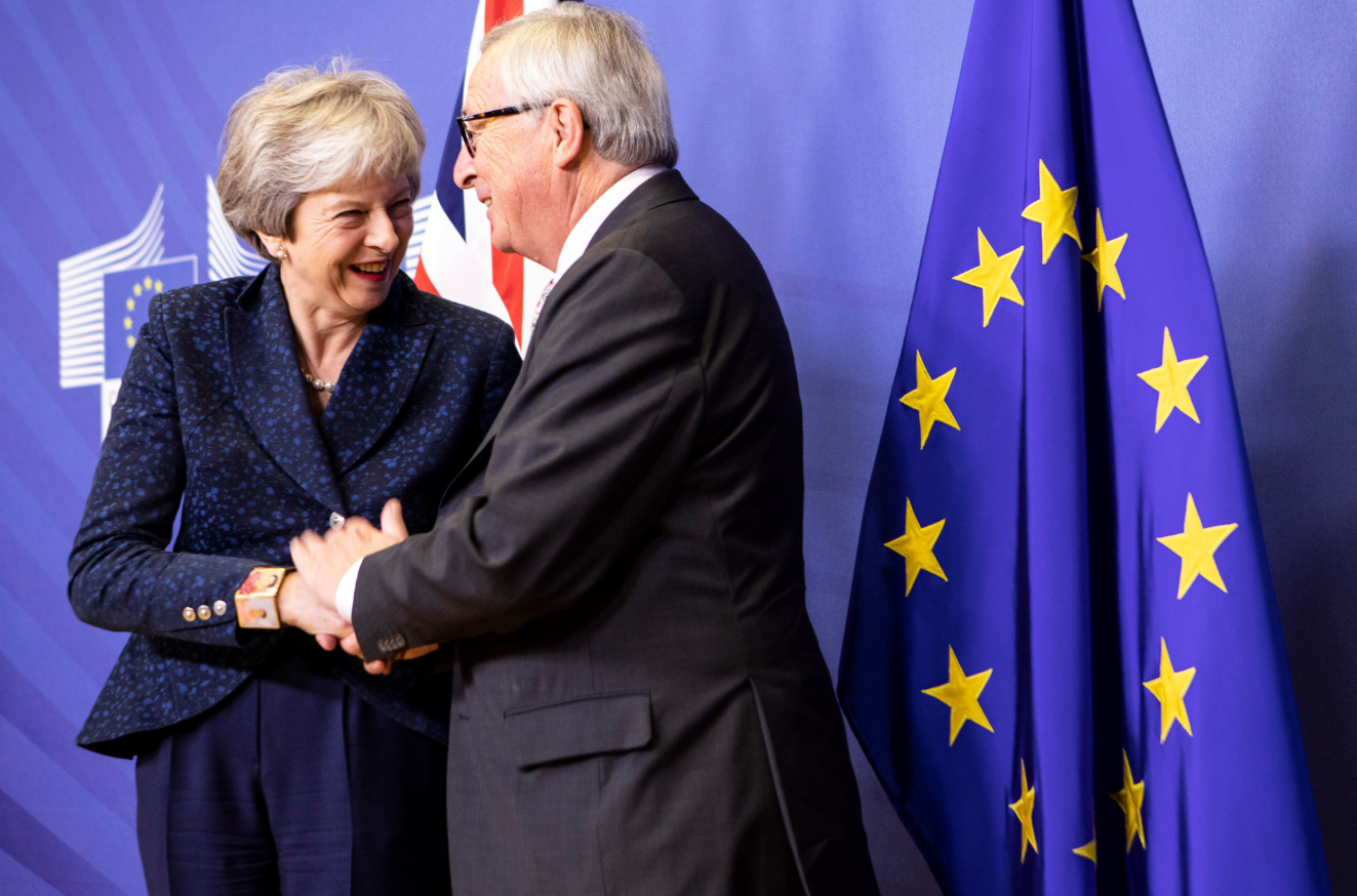 EU leaders approve 'tragic' Brexit deal