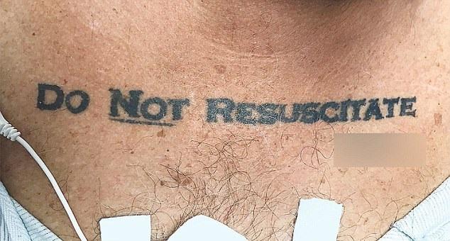 Do Not Resuscitate Tattoo