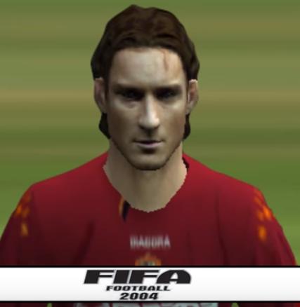 Totti FIFA 2004