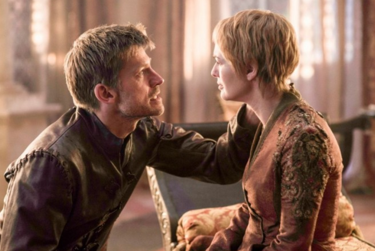 Cersei and brother Jaime died in each other's arms. Credit: HBO