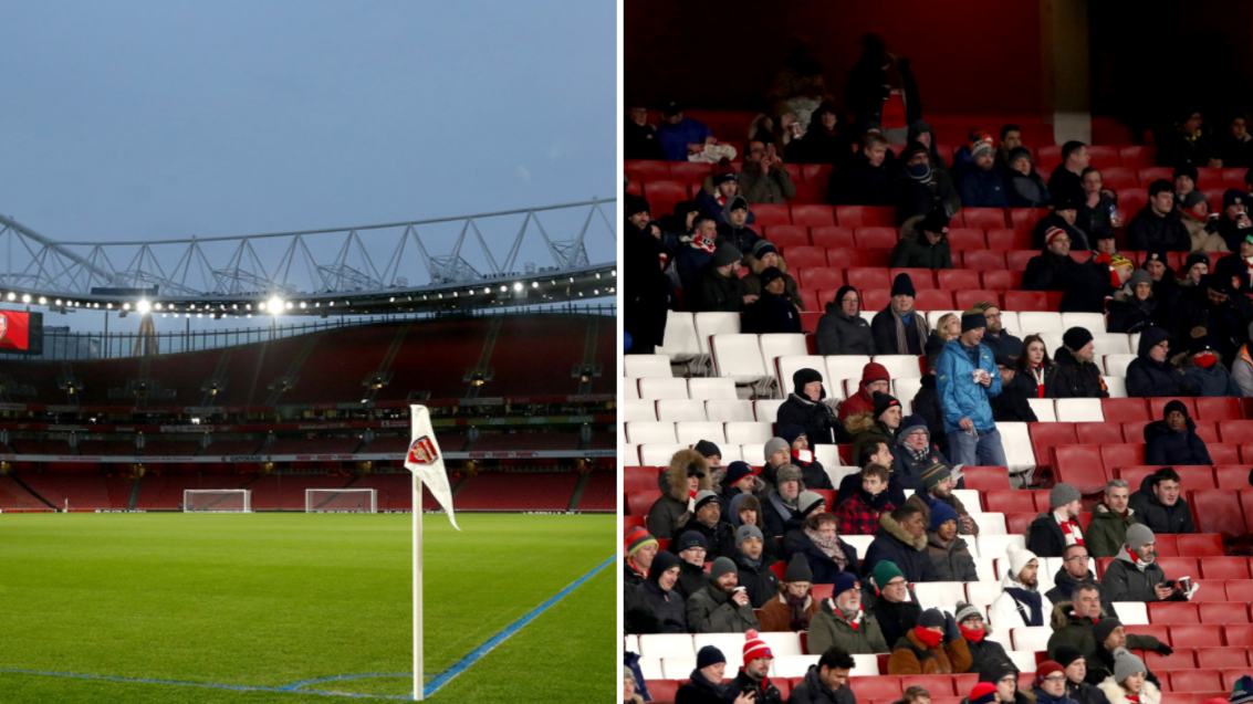 Everyone's Talking About How Empty The Emirates Stadium Is ...