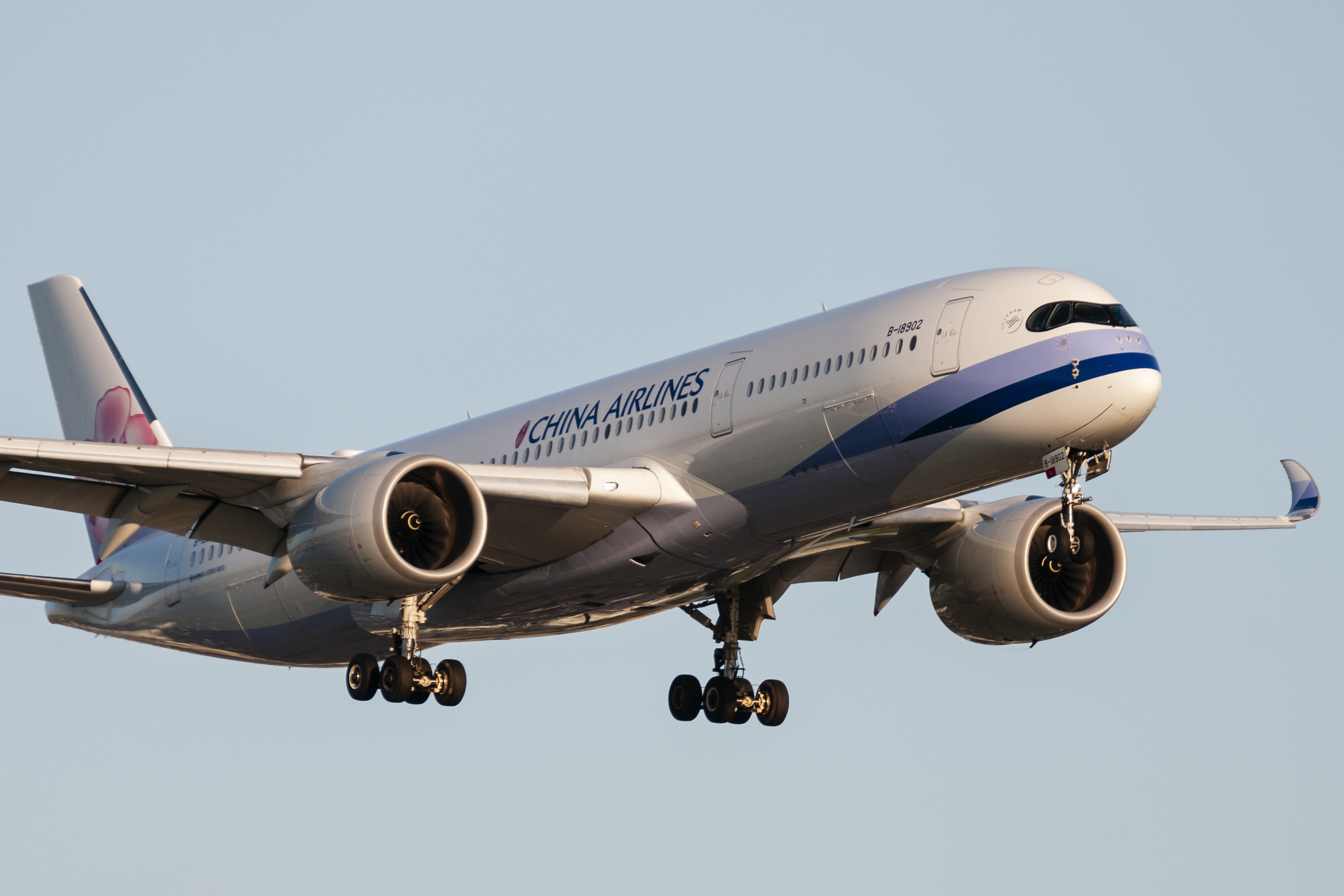 A China Airlines passenger jet. Credit: PA