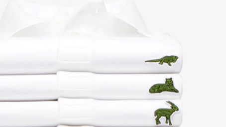 Lacoste Releases New Range Of Polo Shirts To Help Endangered Species