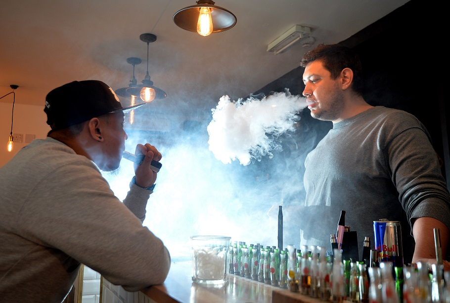 If you use an e-cigarette, you may want to stop quickly