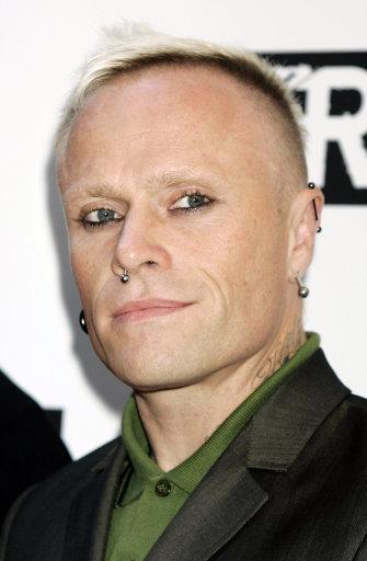 Keith Flint at the Kerrang Awards at The Brewery in London. Credit: PA
