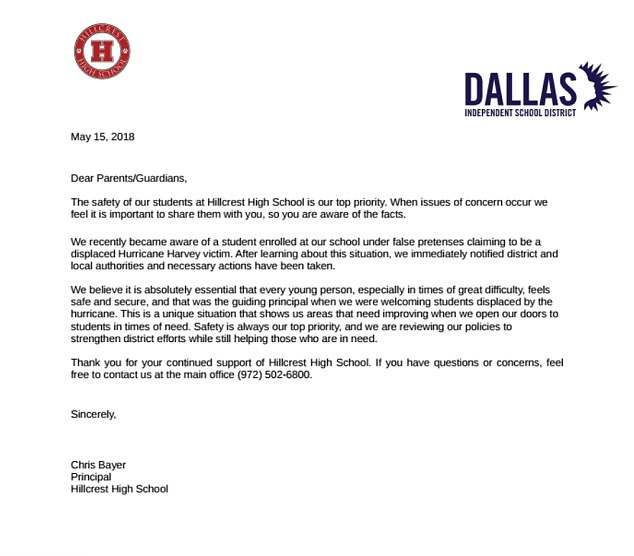 Credit Dallas ISD