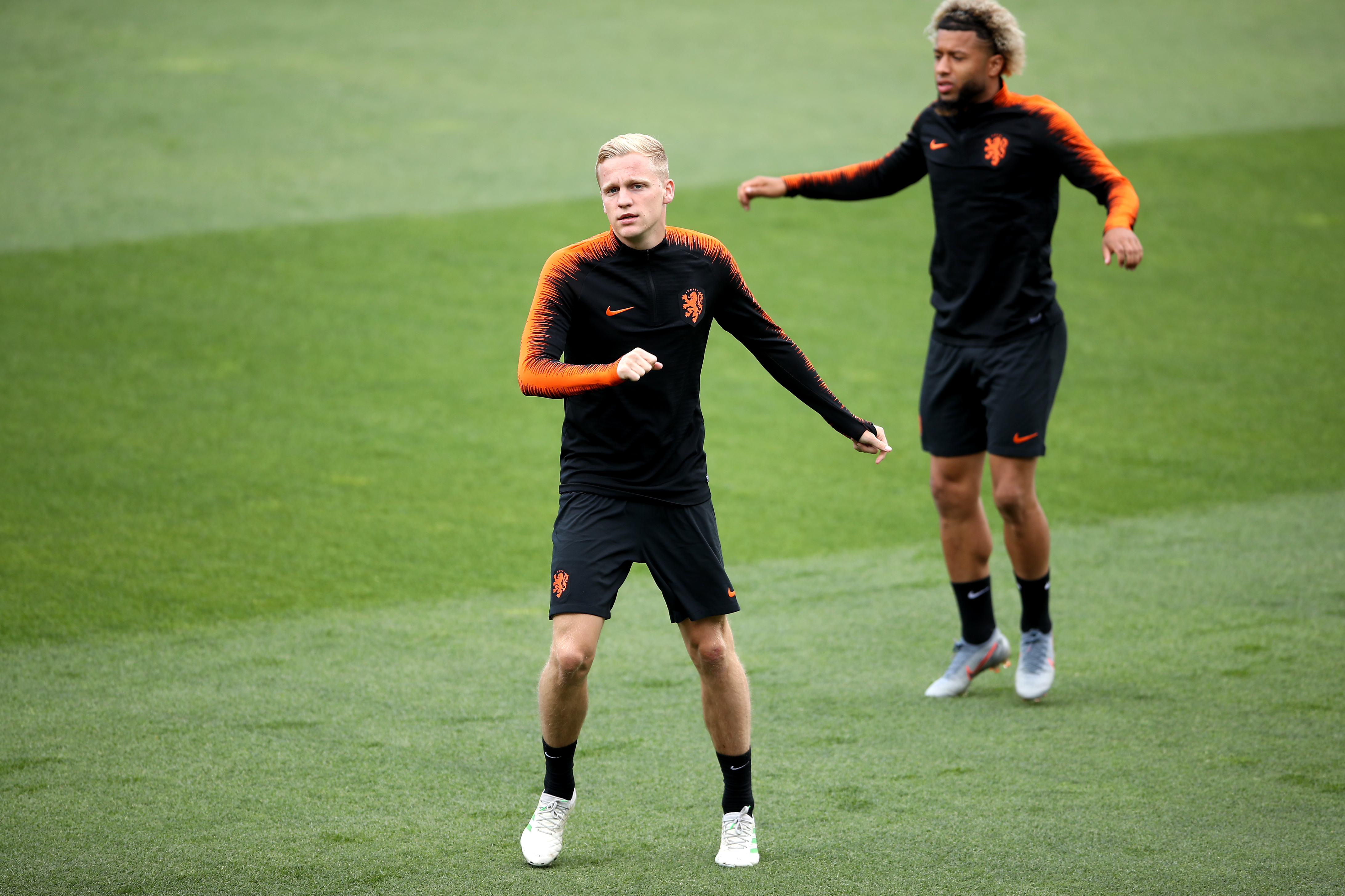 Van de Beek was also part of the Netherland's Nations League squad. Image: PA Images