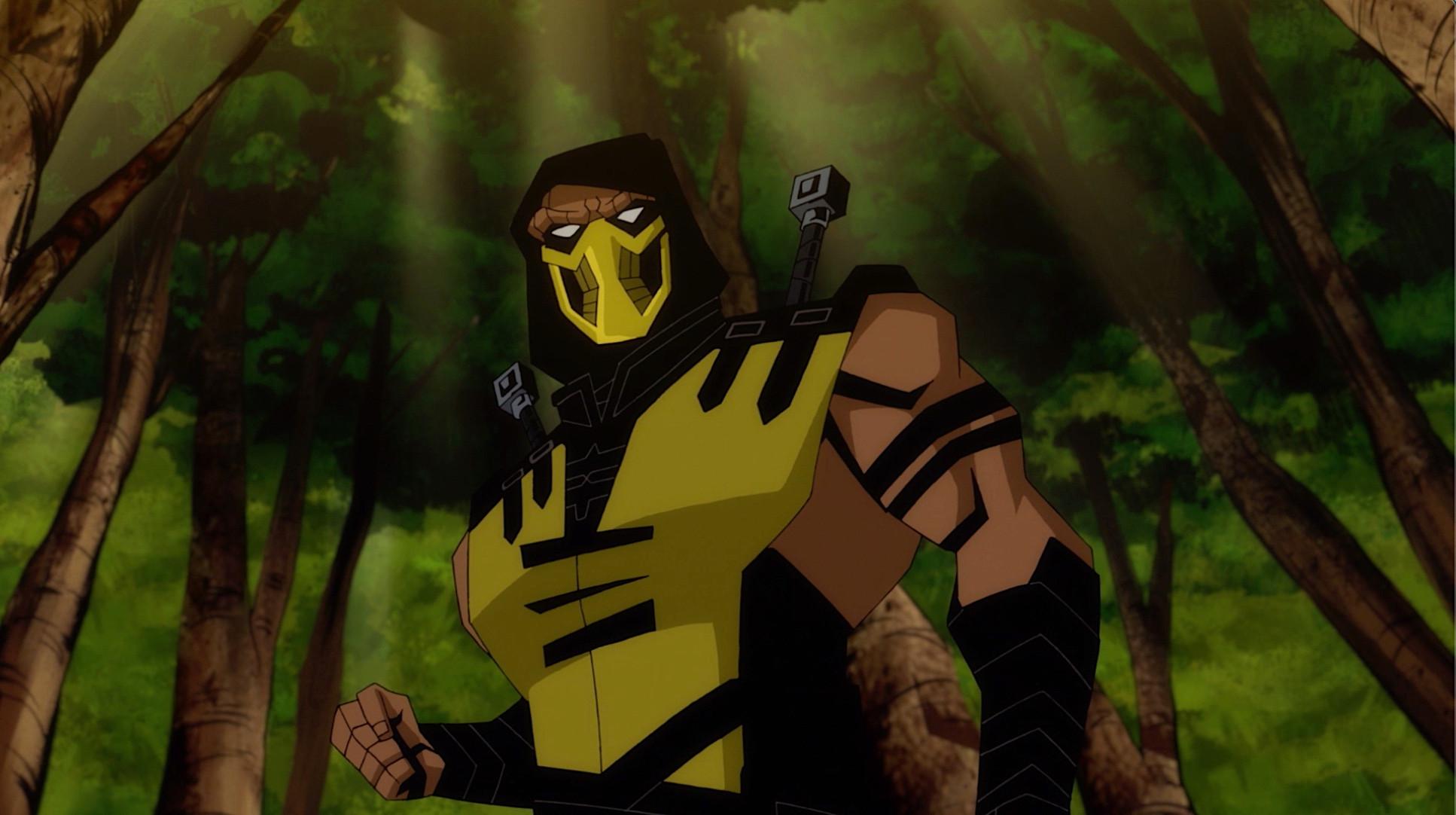 mortal kombat legends scorpions revenge gif