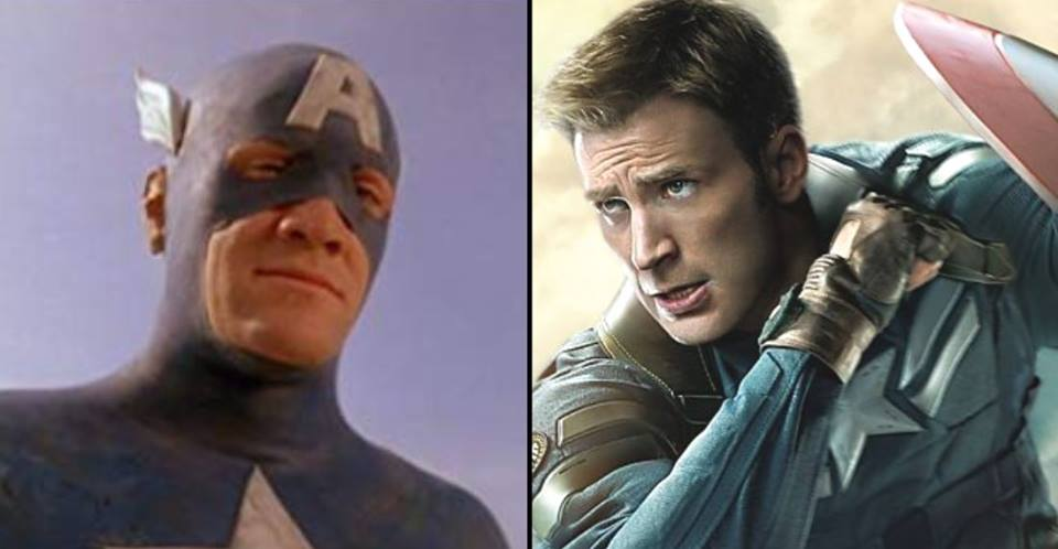 Captain America used to look a lot like a dad with too much time on his hands. Credit: 20/20 Vision/Disney