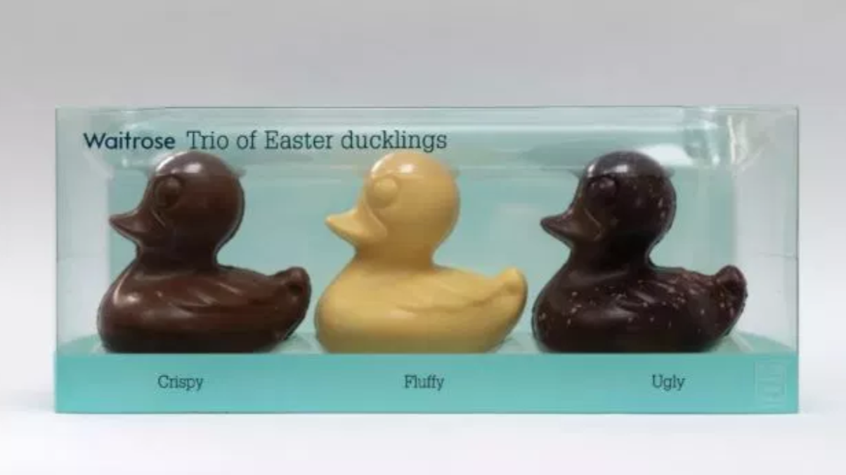 Waitrose pulls chocolate ducklings from sale after complaints of racism