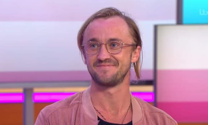 Harry Potter actor Tom Felton on Good Morning Britain. Credit: ITV/Good Morning Britain