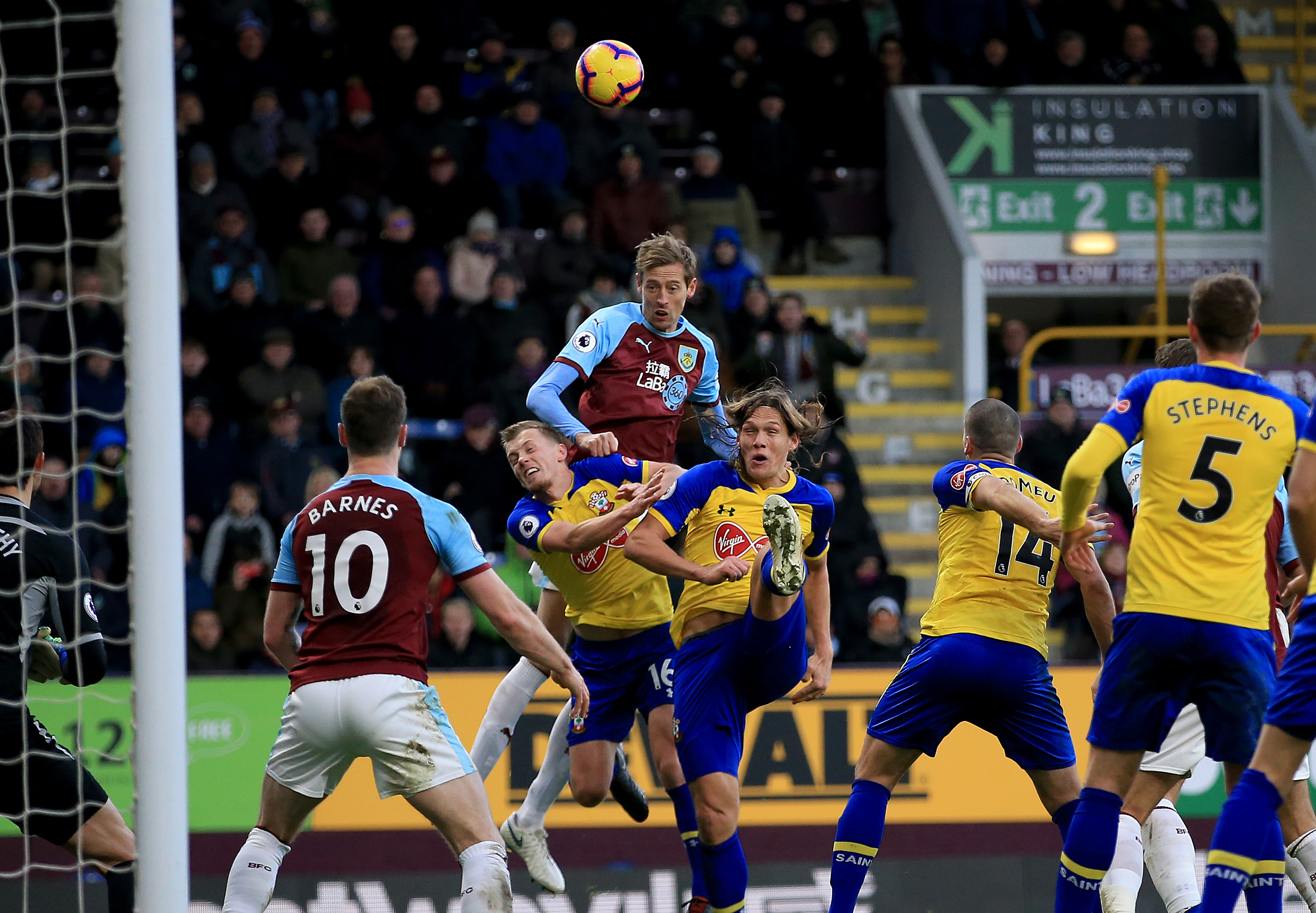 Crouch hasn't played much since being back in the Premier League. Image: PA Images