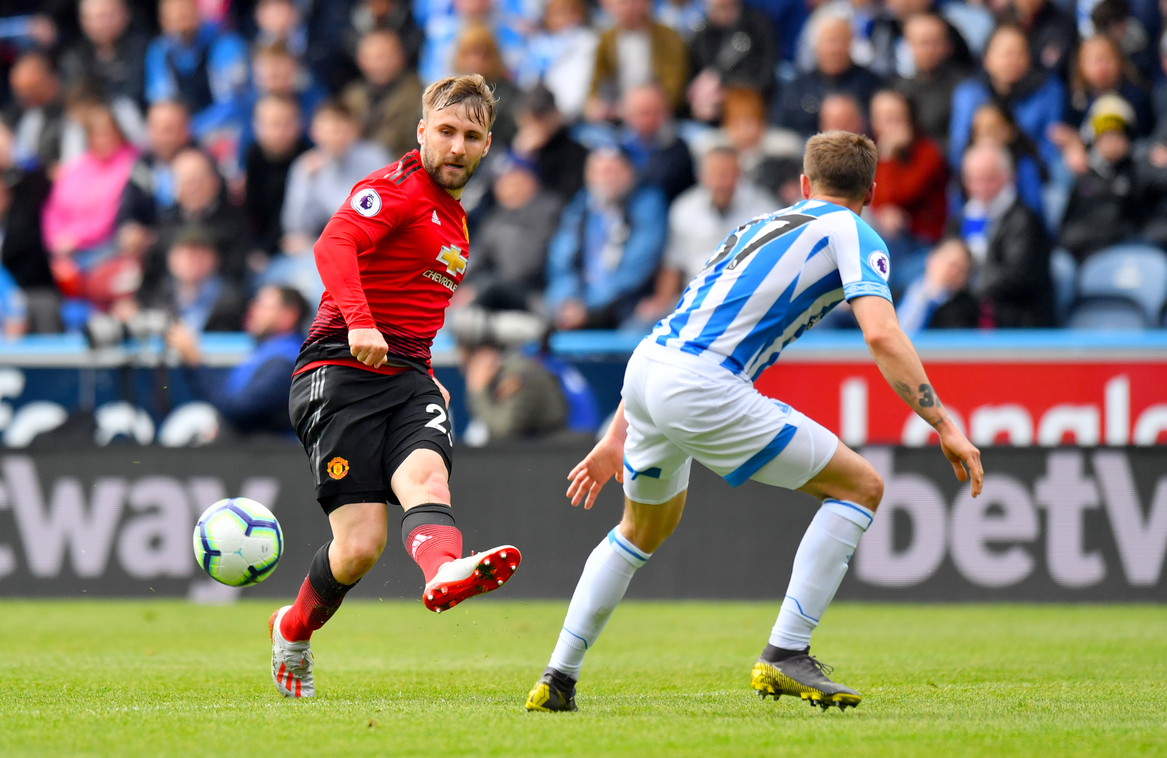 Shaw scoops Man United awards as Pogba misses out