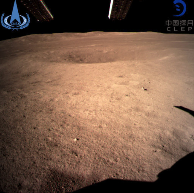 China's Chang'e 4 sent back the first ever photos of the moon's 'dark side'. Credit: PA